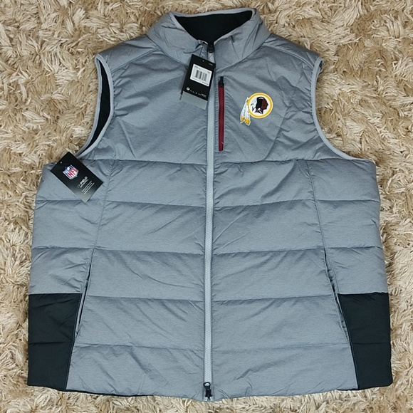 huge selection of a2dbf 55245 Nikes mens Washington Redskins puffer vest NWT